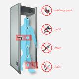Seguridad de 6 zonas que controla la caminata a través de la puerta del detector de metales