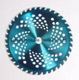 La lame du couteau de la brosse pour la tonte du gazon Tondeuse à gazon la lame de scie circulaire