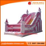 中国の膨脹可能なおもちゃの/Jumpingの弾力がある城の警備員のペンギンのスライド(T4-188)