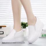 Ботинки тапки отдыха & комфорта конька женщин способа кожаный Srx0907-1 (11)