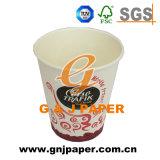La impresión de logotipo personalizado no desechables de exportación de mango 6 taza de café de Oz.