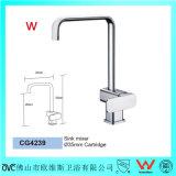 Le prix concurrentiel Wels/robinet de filigrane partie le mélangeur monté par bureau matériel en laiton