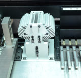 Máquina manual de la selección y del lugar con el sistema visual
