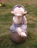 Polyresinの彫刻の人形の彫像の装飾