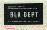Het Etiket van het Flard van de Druk van de Overdracht van de Hitte van het silicone