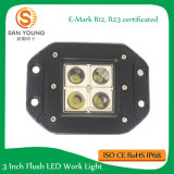 LED作業ライト10Wクリー族の点の洪水のビーム4D LED作業ライト