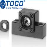 Tornillo Sfu2505 L650mm de la bola con la unidad de soporte para los dispositivos fotovoltaicos