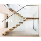 まっすぐな階段現代まっすぐなステアケースキットのステアケース