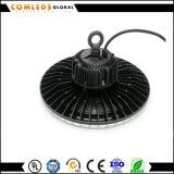 UFO impermeable LED Highbay del aluminio IP66 220-240V de 30000h 85-265V para la fábrica