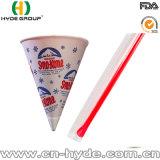 Tazza a gettare del gelato del documento del cono