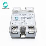Общие SSR-75ва выходной 24-380В переменного тока 75A SSR Твердотельные реле регулятора напряжения