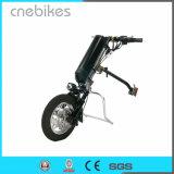 Una de las ruedas delantera 36V 350W Silla de ruedas eléctrica triciclo en venta