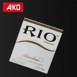 Étiquette auto-adhésive de produit d'étiquette de vin de collant de transfert d'OEM d'étiquette d'animal familier de doublure d'épreuve thermique de l'eau