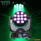 12*10W RGBW Haz cree Cabezal movible LED