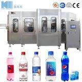 Frasco Pet em Pequena Escala automática de água mineral de estanho Molho de suco cerveja facilitando o enchimento ao engarrafamento Capping Embalagem em 31 Preço da Máquina