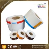 Étiquette thermique de transfert de qualité avec la taille personnalisée