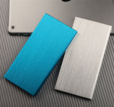 iPhone를 위한 고품질 매우 호리호리한 금속 힘 은행 8000mAh
