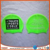 Tampão elástico da nadada do silicone da impressão com proteção de orelha