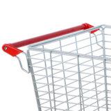 Compter le chariot plat de chariot à cage mobile de treillis métallique