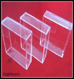 カスタム形のゆとりの水晶ガラス容器