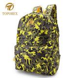 Camuflagem de percurso colorido Saco de ombro com duas vezes o saco de desporto caminhadas Backpack