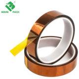 Máscara de silicona resistente al calor de poliimida cinta adhesiva de enmascarar ESD de enlace