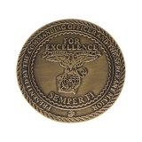 工場卸し売りカエデの葉のレプリカの硬貨の金属のコイン・ゴールドの硬貨