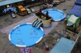 Lilytoysは夏の運動場土地の膨脹可能な水公園をからかう