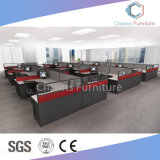 Moderne grüne Partition L Form-Büro-Tisch Wostation (CAS-W31412)