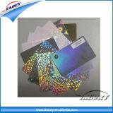Cartão plástico da impressão de cor cheia, impressão do cartão do PVC, impressão do cartão de sociedade do PVC