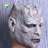 O jogo feito sob encomenda o mais atrasado da máscara Handmade do rei Máscara Cheio Látex Despesas gerais da noite de Cosplay da máscara dos tronos/máscara realística do látex