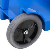 Plastikreinigungs-Karre mit Rädern für Hotel