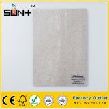 Textura de mármol de 3mm laminado de alta presión para la cocina, Revestimiento de pared