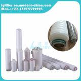 Cartucho de filtro plisado PTFE de membrana de 0.22 micrones con tarifa absoluta