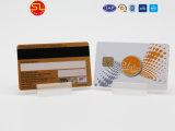 Carte vierge à puce de PVC Sle4428 de plastique d'IDENTIFICATION RF