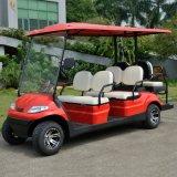 6 Seatersのインポートされた電池が付いている電気ゴルフカート