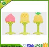 幼児及び幼児の赤ん坊のゴムのための柔らかいシリコーンのフルーツの歯生期のおもちゃ