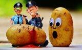 De Chinese Droge Ontwaterde Zoete Vlokken van de Aardappel van het Voedsel