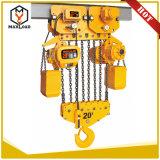 Una gru Chain elettrica da 10 tonnellate con il carrello della monorotaia (HHBB10-04SM)