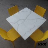 Kkr Table ovale personnalisée de la résine de pierre de Fast Food Table à manger (180109)