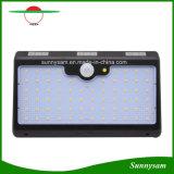 Indicatore luminoso solare impermeabile esterno di Gardent della lampada da parete di obbligazione dell'alto di lumen dei 66 LED di movimento indicatore luminoso solare del sensore