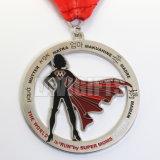Medalha feita sob encomenda por atacado do chapeamento niquelar da classe elevada da alta qualidade