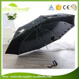 Ручки цвета спички повелительниц высокого качества зонтик популярной складывая