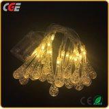Luz de hadas colorida de la cadena del LED para la decoración del día de fiesta