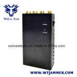 Jammer UHF VHF GPS 8 Jammers антенны Handheld и сигнала телефона 3G 4glte 4gwimax