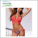Женщины 2 цветастого части Swimwear лета девушок