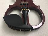Violon fabriqué à la main de violon électrique d'instrument de musique de violon