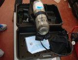 Respirador de la cara llena del equipo de la lucha contra el fuego/aparato respiratorio del oxígeno