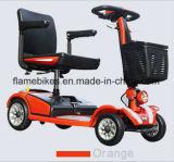 Pequeño tamaño de viaje a las 4 ruedas Scooter Electric Scooter de movilidad de discapacitados