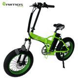 20*4.0 بوصة [500و] شاطئ ثلج إطار العجلة سمين كهربائيّة درّاجة وسط درّاجة